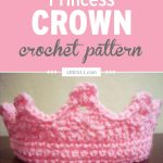 This Easy Princess Crown crochet pattern is a lovely toy for your imaginative and princess-loving kids. They can wear this around and pretend to be the lovely, precious princesses in their own real-life fairy tales. #crochet #crochetlove #crochetlife #crochetaddict #crochetpattern #crochetinspiration #ilovecrochet #crochetgifts #crochet365 #addictedtocrochet #yarnaddict #yarnlove