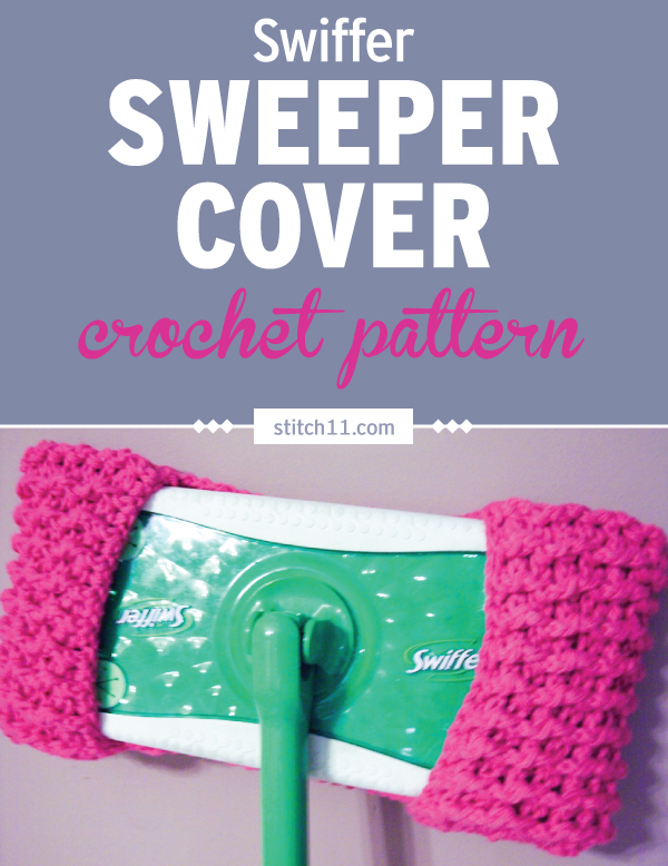 This Swiffer Sweeper Cover crochet pattern fits most Swiffer mops, no need to buy those pads. You can make several of these to swap while the other one is in the wash. The crochet pattern creates the ideal bumps that can sweep away dirt and still be able to absorb liquids. #crochet #crochetlove #crochetlife #crochetaddict #crochetpattern #crochetinspiration #ilovecrochet #crochetgifts #crochet365 #addictedtocrochet #yarnaddict #yarnlove