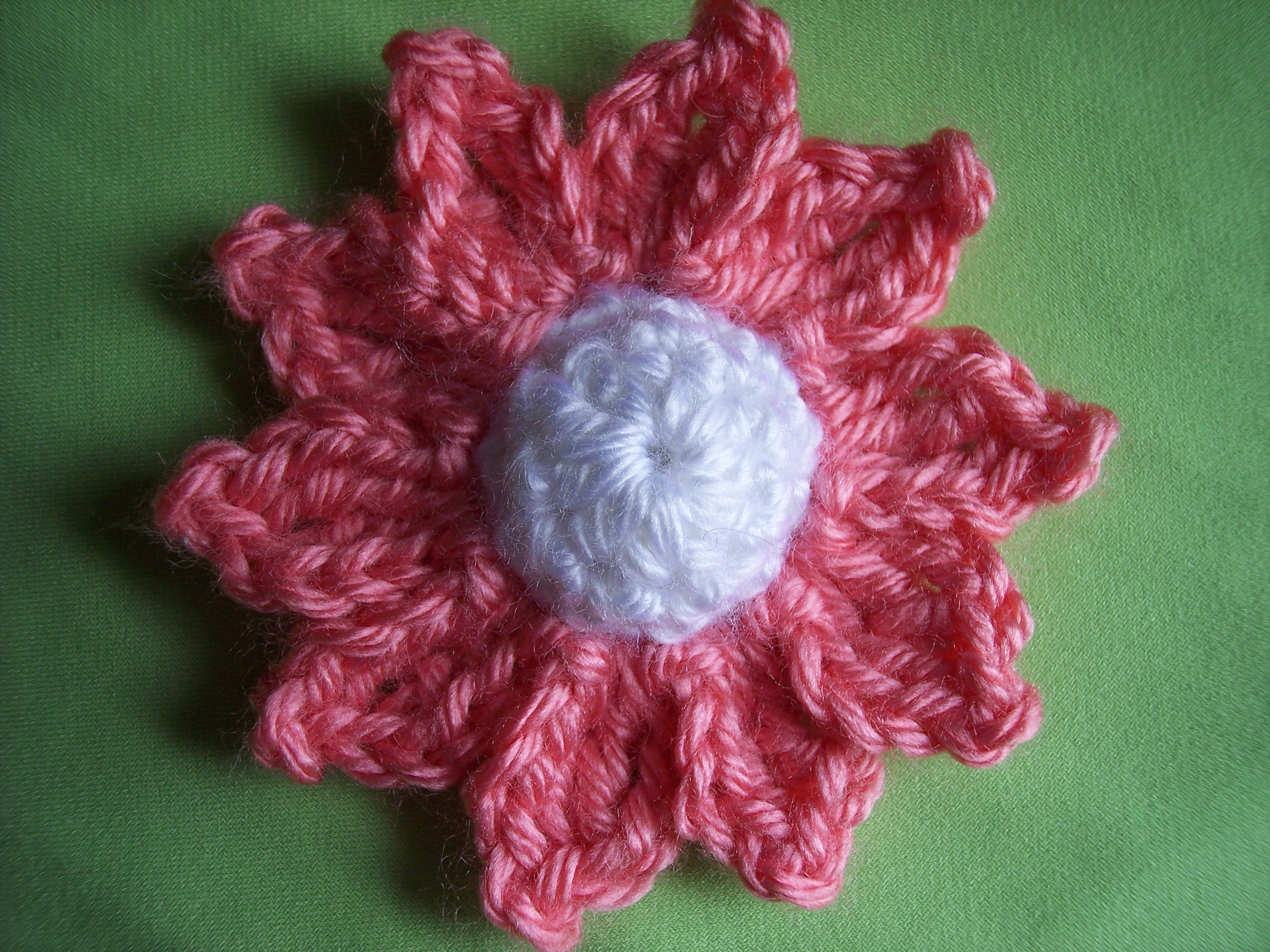 My daisy stitch11 daisy crochet pattern i used 375 mm hook and simply soft yarn but you can choose the hook and yarn for this flower for different looks izmirmasajfo