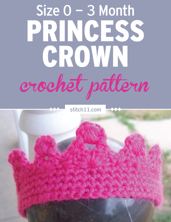 Size 0 3 Month Princess Crown Stitch11