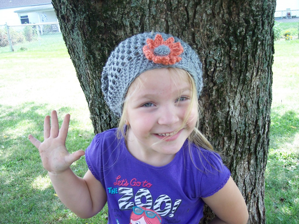 Slouchy hat for children stitch11 please dt1010fo