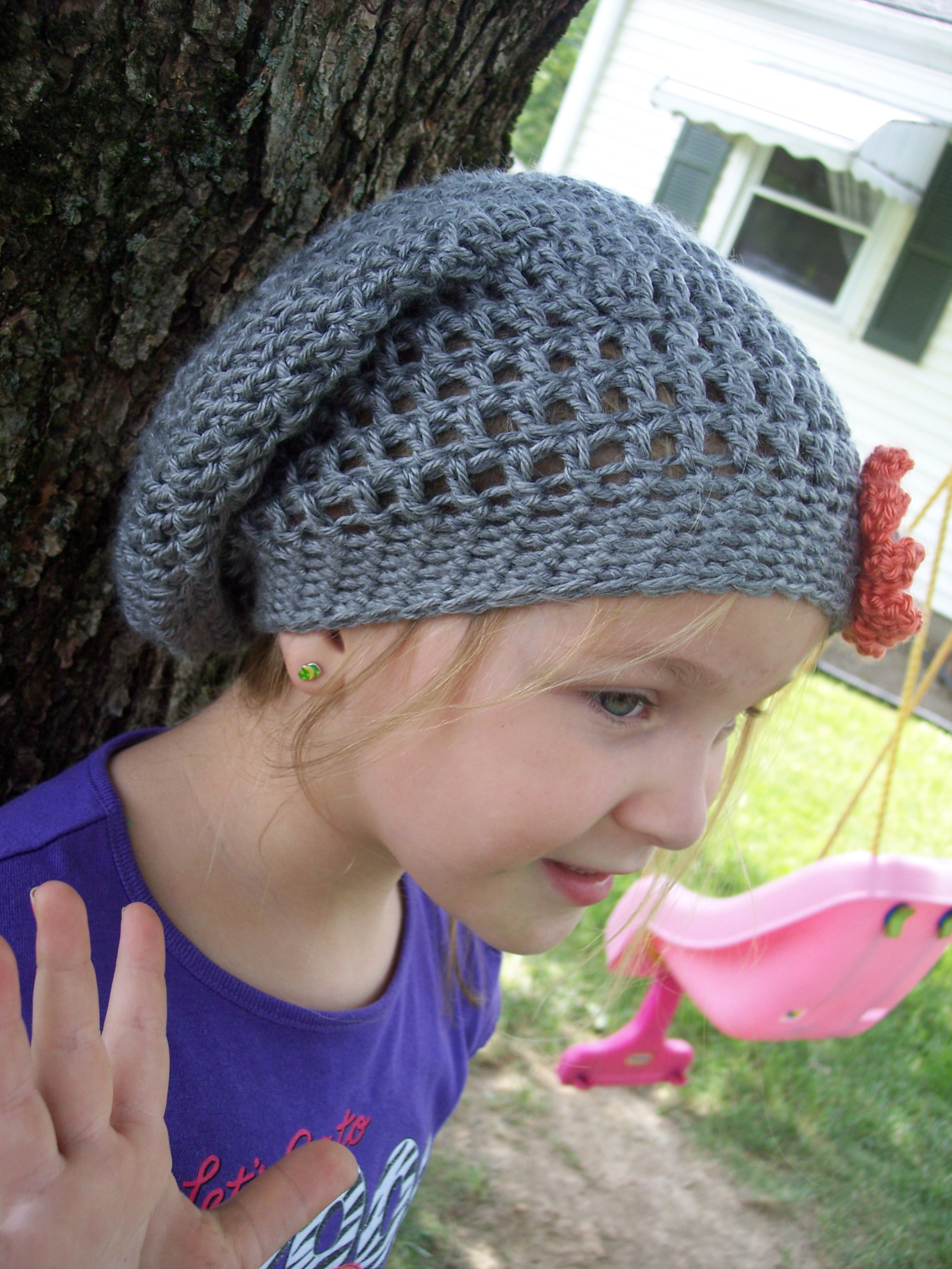 Slouchy Hat for Children - Stitch11 d4b6db638b1