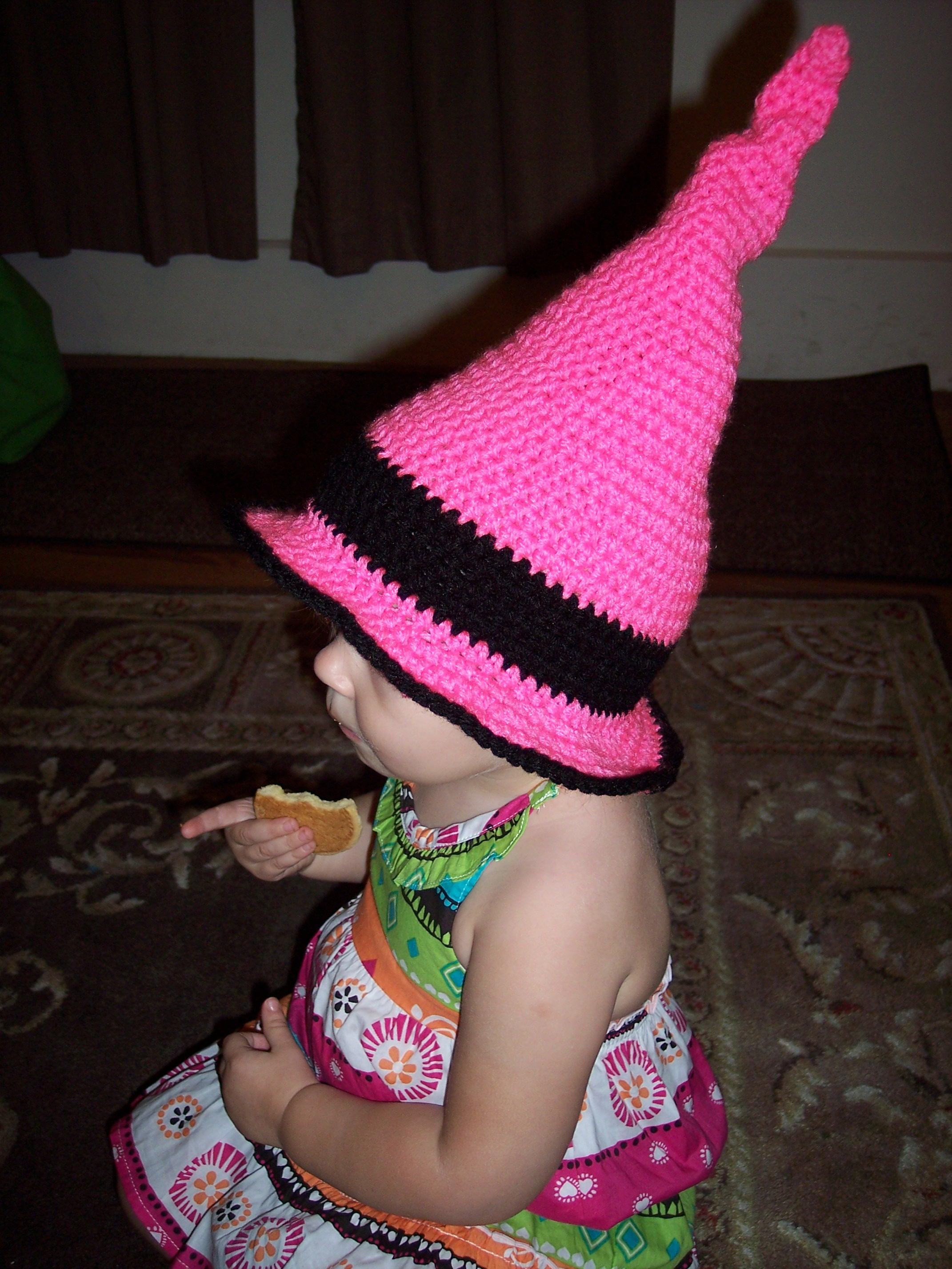 Wicked Wizard Witches Hat - Stitch11