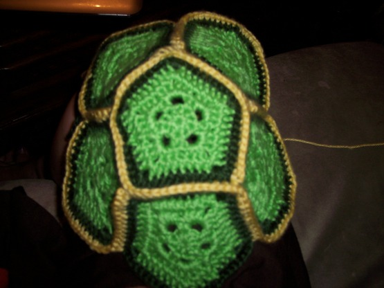 free turtle shell crochet pattern