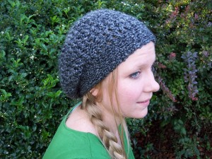 Lovely lady slouchy hat stitch11 get started dt1010fo
