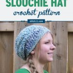 Lovely Lady Slouchy Hat Crochet Pattern - after designing my Child Size Slouchy Hat that turned out so beautiful, I decided to make an adult size version as well. This free pattern is very easy to follow and its simply the perfect slouch hat! #crochetpattern #crochethat #crochetslouchhat #crochet #crochetaddict #crochetgift