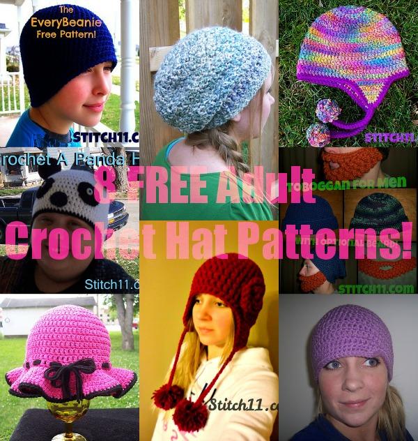 1d945f08208 8 Free Adult Crochet Hat Patterns - Stitch11