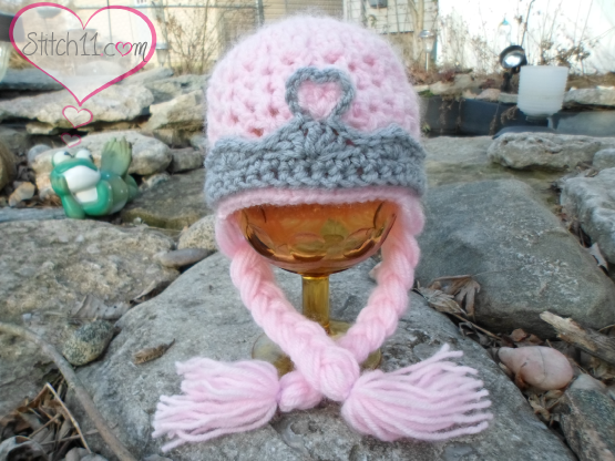 Newborn-Crochet- Princess-Hat