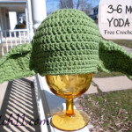 3-6 Month Yoda Crochet Hat