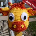 Free Adult Crochet Giraffe Pattern