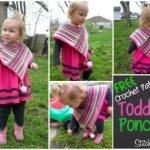 Toddler Poncho Pattern