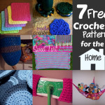 Seven Free Crochet Patterns For The Home