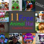11 free animal hat crochet patterns