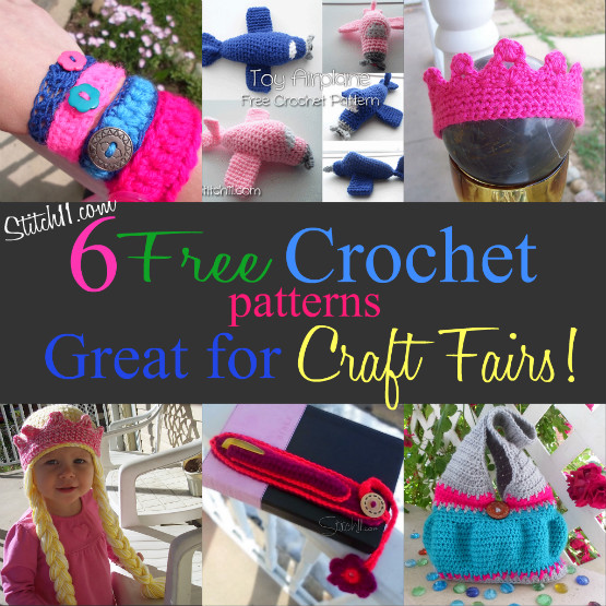 Free Craft Fair Crochet Patterns