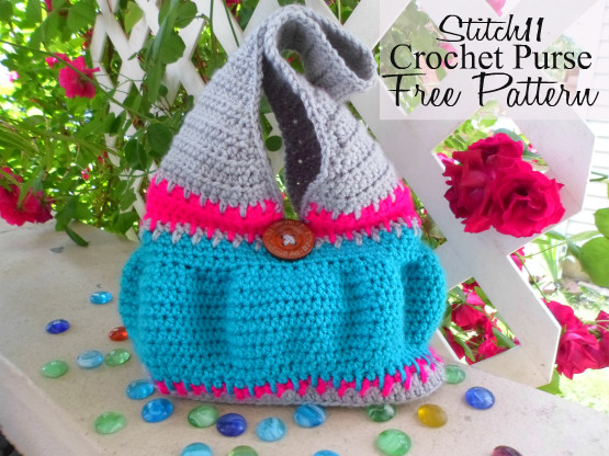 Stitch11 Crochet Purse - Free Pattern