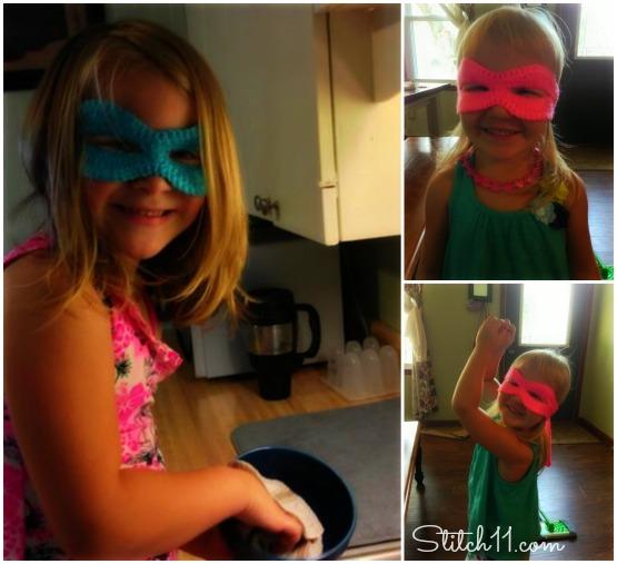 Girl Ninja Masks