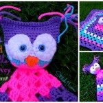 free owl cuddle lovey crochet pattern