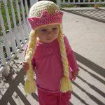 Princess Hat with Braids