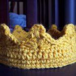 King Crochet Crown