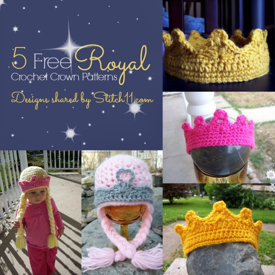 5 Free Royal Crochet Crown Patterns Stitch11
