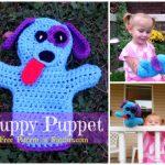 Crochet Puppy Puppet