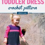 Are you looking for a spring or summer crochet pattern? Then this adorable toddler dress crochet pattern is for you. #crochet #kidscrochet #crochetaddict #crochetpattern #crochetdress #ilovecrochet #crochetgifts #crochet365 #addictedtocrochet #yarnaddict #yarnlove