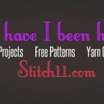 Free Patterns, projects, yarn organization