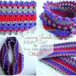 Kissing Jewels - free pattern