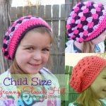 Child Size Slouch Hat - free Crochet Pattern