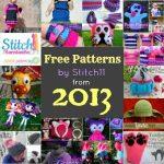 2013 Stitch11 Free Patterns