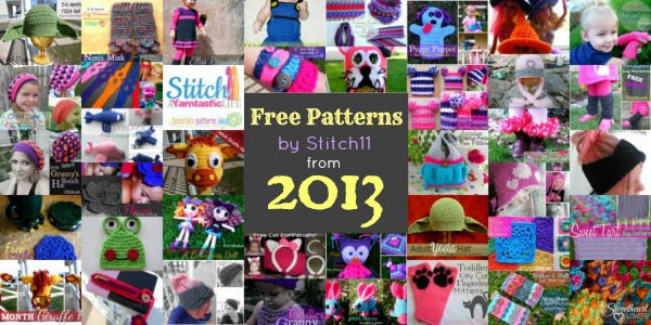 2013 Stitch11 Free Patterns