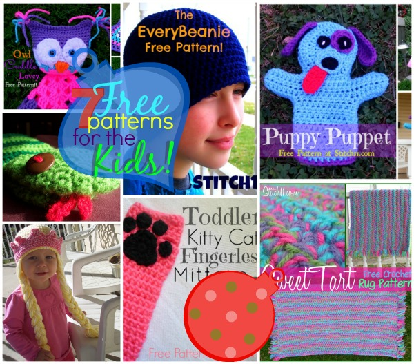 7 Free Patterns For The Kids