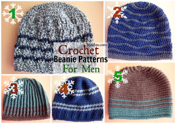 Crochet Beanie Patterns For Men Stitch11