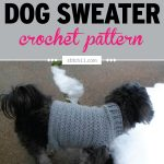 Extra Small Dog Sweater Crochet Pattern