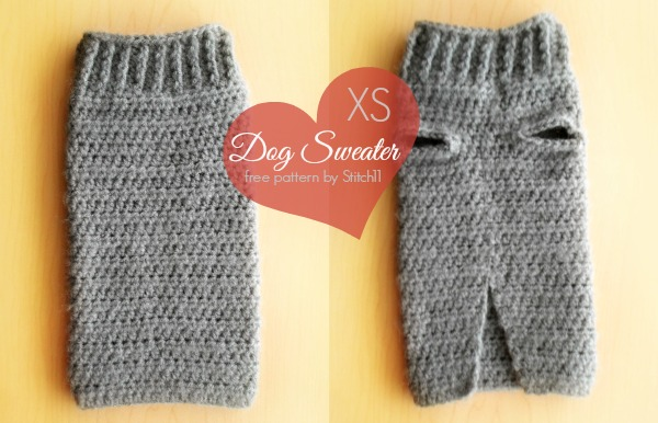 Extra Small Dog Sweater Crochet Pattern Stitch40 Unique Crochet Dog Sweater Pattern Easy