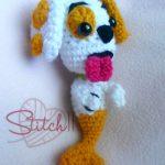 Crochet Bubble Guppies Dog
