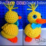 Crochet Baby Duck - Free Crochet Pattern - Stitch11