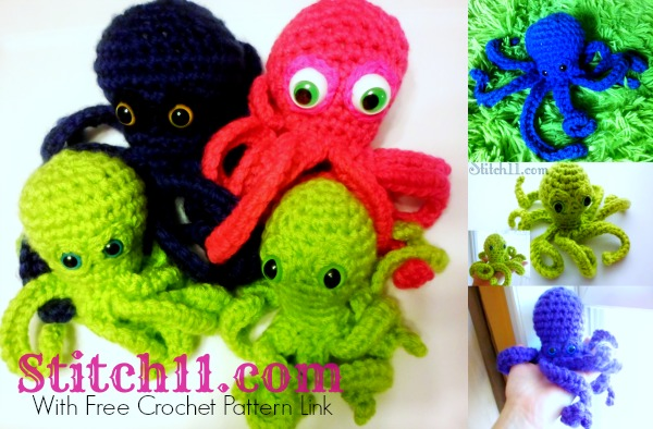 Free Octopus Crochet Pattern - With Review