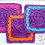 Stitch11 Crochet Square Washlcloth