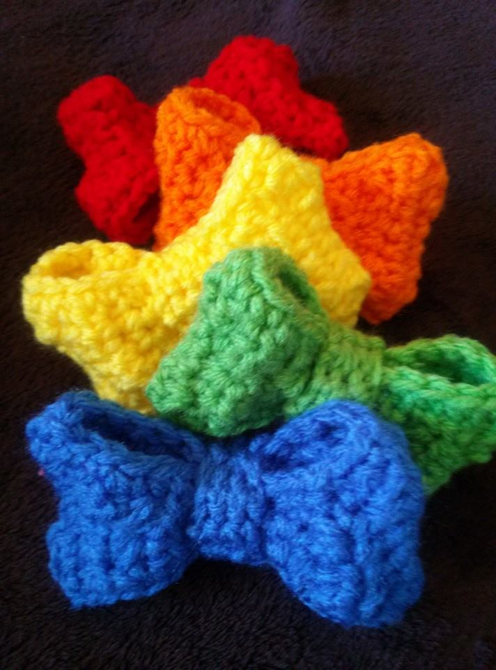 The perfect free bow crochet pattern