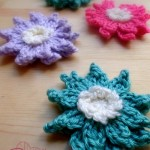 Crochet Water Lily Flower