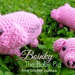 Boinky The Baby Pig - Free Crochet Pattern
