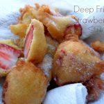 Deep Fried Strawberries