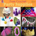 Free Crochet Party Supplies