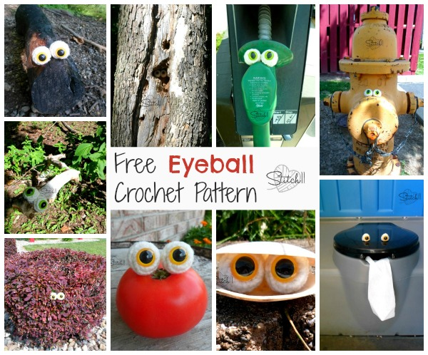 Free Crochet Eyeball Pattern