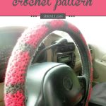This Steering Wheel Cover crochet pattern will fit a wheel that
