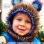 Blue Bear Hood