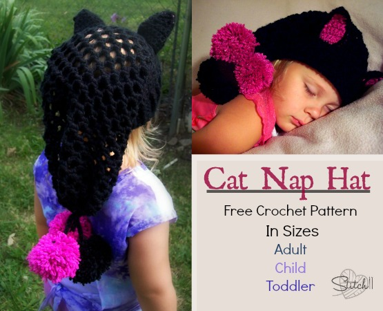 Cat Nap Hat Stitch11