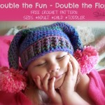Double the fun - Double the Flop - Free Crochet Pattern Adult-Child-TOddler