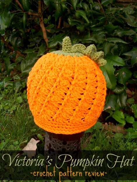 Victorias Pumpkin Hat Pattern Review Stitch11